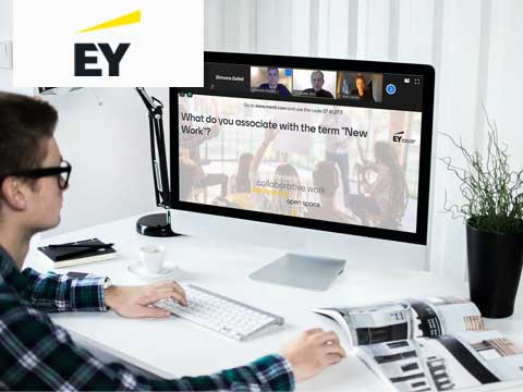Technology, collaboration, leadership: online workshop with EY