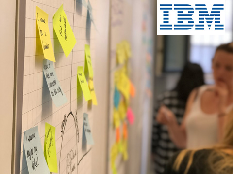 Problem solving with Design Thinking: During the IBM workshop, ISM students put the methodology into practice./Photo: IBM