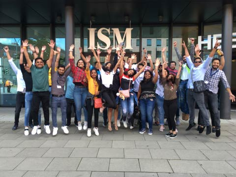 Between Summer School and sightseeing: Indian students visit ISM