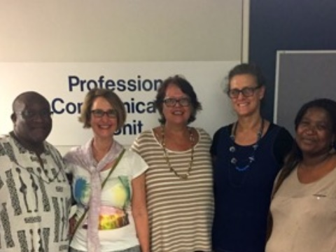 The Professional Communication Unit at the University of Cape Town