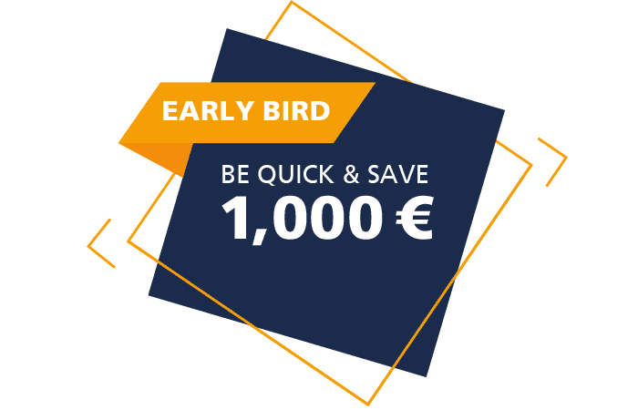 Early Bird - be quick & save